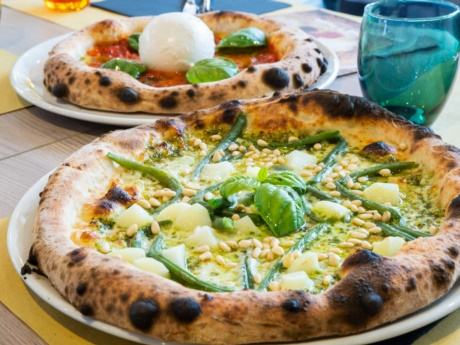 Pizza Genovese da Pizza Grill & Maccaroni, Arta Terme