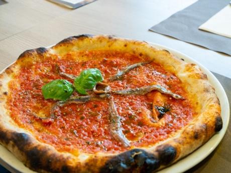 Pizza marinara-Ristorante Hotel alla Fonte-Arta Terme-Carnia