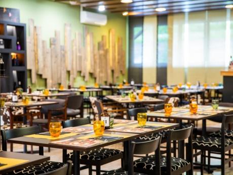 Sala ristorante da Pizza Grill & Maccaroni ad Arta Terme